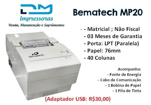 BEMATECH MP-20 WINDOWS 8 DRIVER DOWNLOAD