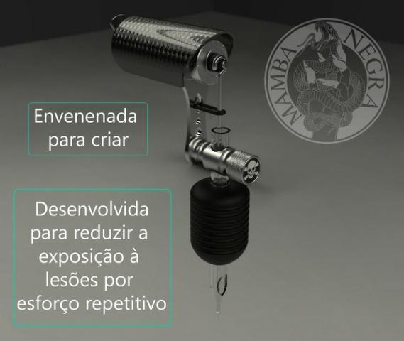 Maquina de Tatuagem Mamba Negra (Máquina NOVA!!) - Foto 2