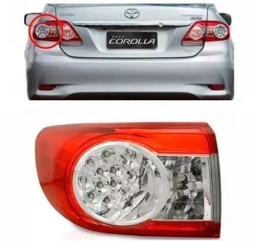 Lanterna Canto Toyota Corolla 2012 2013 2014 c/ Led Esquerdo