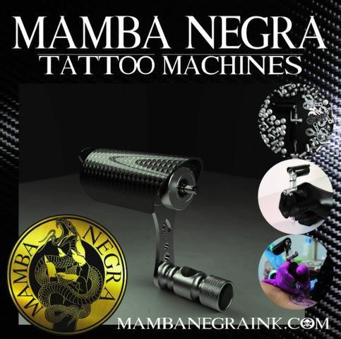 Maquina de Tatuagem Mamba Negra (Máquina NOVA!!) - Foto 6