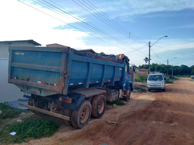 Basculante caçamba truk