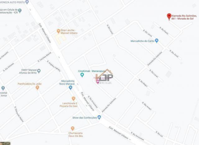 Casa com 2 dormitórios à venda, 70 m² por R$ 67.058 - São José - Manacapuru/AM