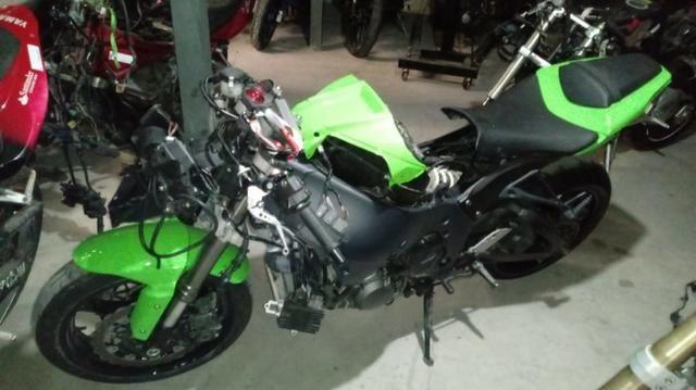 Moto Para Retirada De Peças/sucata Kawasaki Zx10 R Ano 2012 - Foto 5