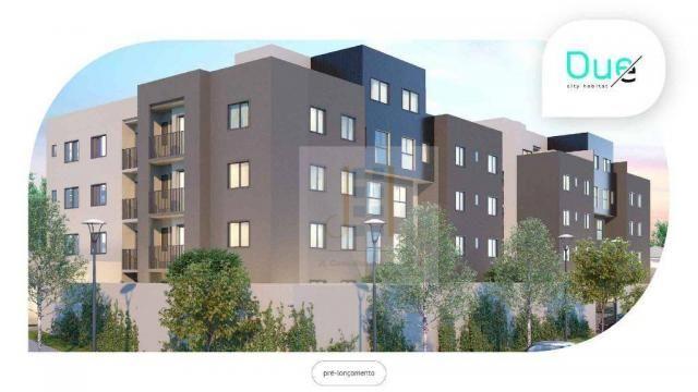 Apartamento com 2 dormitórios à venda, 48 m² - Cidade Industrial - Curitiba/PR