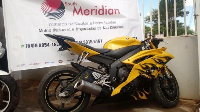 Moto Para Retirada De Peças/sucata Yamaha Yzf R6 Ano 2008 - Foto 3