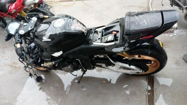 Moto Para Retirada De Peças/sucata Honda Cbr 600 Rr Ano 2004 - Foto 2
