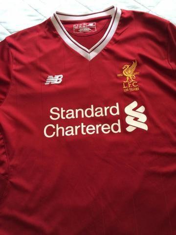 Camisa do Liverpool - Original da NB - Tam GG - Nova na etiqueta. Jogador 8f079b8b833c5