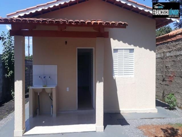 Casa em Santa Bárbara de Goiás, Construção Nova num lote inteiro de 250 m². Perto do Lago - Foto 11