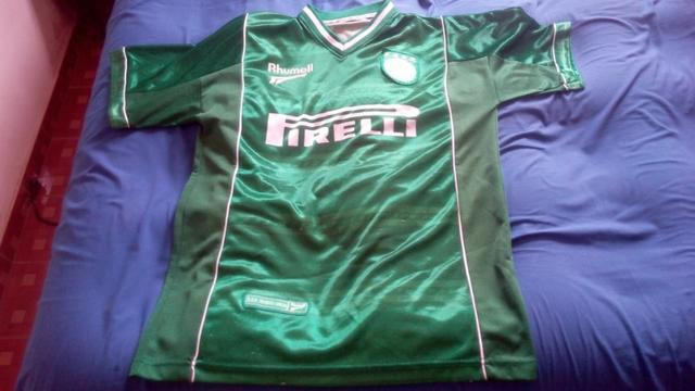 69b5b46a38f96 Camisa Palmeiras Antiga Retrô Numero 10 Rhumell - Pirelli - Esportes ...