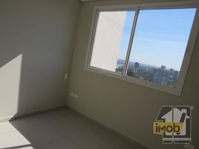 Apartamento com 3 dormitórios para alugar, 101 m² por R$ 2.500,00/mês - Residencial Omoiru - Foto 12