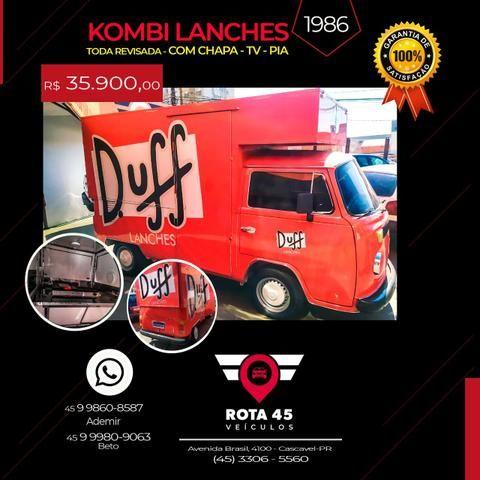 Kombi lanches 1986 - Foto 2