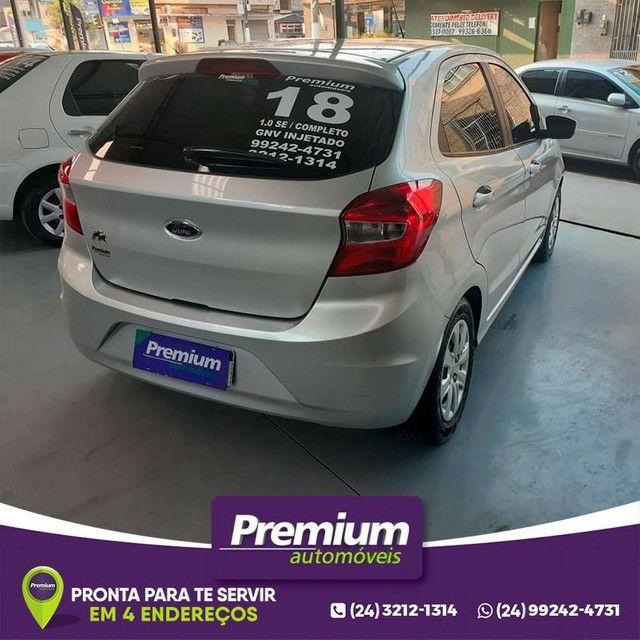 Ford Ka 1.0 SE , Completo, 2018 , Gnv injetado  - Foto 4