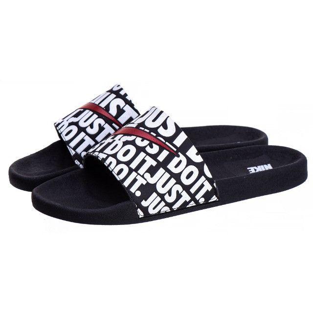 Sandália slide Kawa just do it - Foto 4