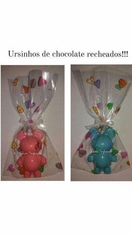 Ursinhos de chocolate