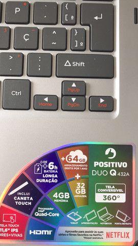 Notebook 2 em 1 Positivo Duo Q432A + NF - Foto 3
