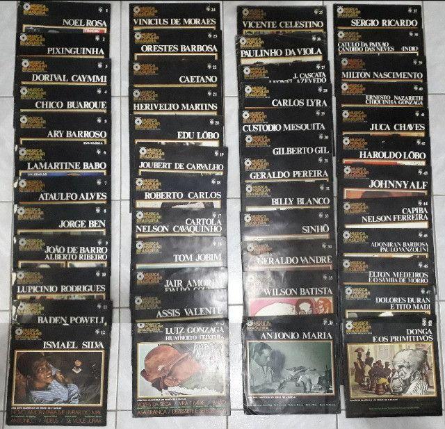 Coleção de LPs da Música Popular Brasileira