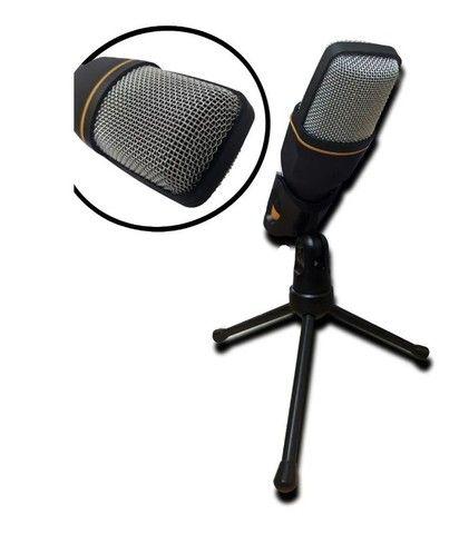 Microfone Condenser SF-666 Preto - Foto 4