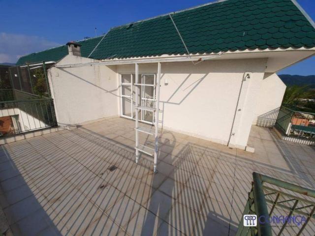 Cobertura com 2 dormitórios para alugar, 147 m² por R$ 2.200,00/mês - Campo Grande - Rio d - Foto 20