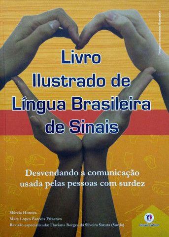2 Livros Ilustrados da Língua Brasileira de Sinais - Foto 2