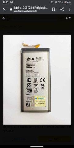 Bateria LG Q610 G710 G7 Q7 Q7+ K12+