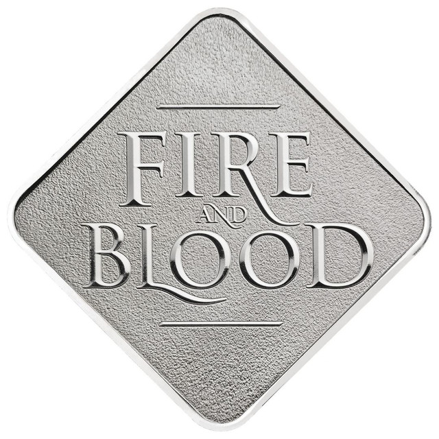 Medalha Game Of Thrones House Targaryen Edição Limitada - Foto 3