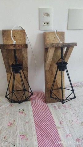 Luminárias  artesanais> - Foto 5