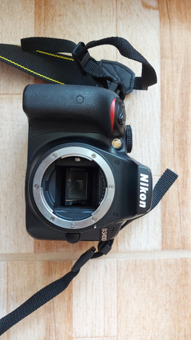 Câmera Nikon D3400 + lente 18-55 - Foto 5