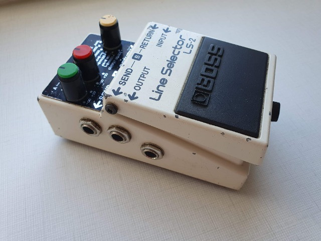 Pedal Pedal Boss Line Selector Ls-2 (loop, Aby, Power Supply) - Foto 3