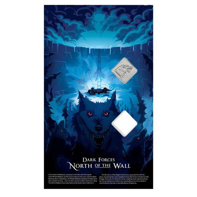 Medalha Game Of Thrones House Stark Edição Limitada - Foto 3