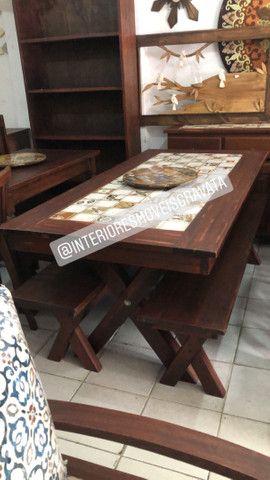 Móveis de qualidade madeira angelin pedra  maciça  - Foto 4