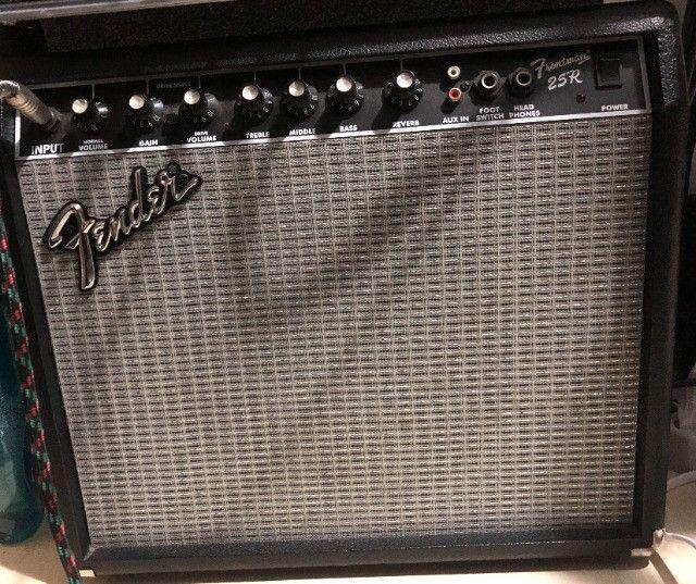 Amplificador Fender - cubo Frontman 25r - Foto 2
