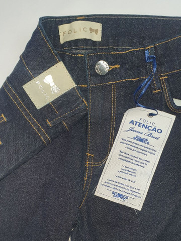 Calça jeans stretch folic. - Foto 3