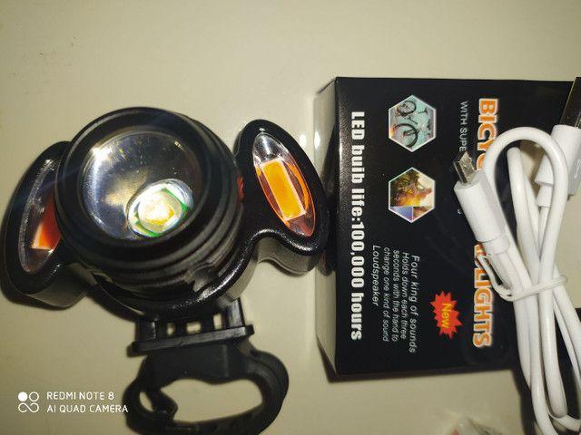 Lanterna de bike LED 100.00 hours - Foto 2