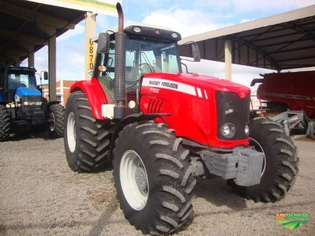 Trator Massey Ferguson 7150 4x4 ano 12