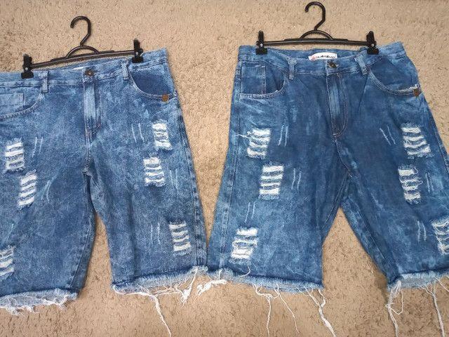Bermuda jeans - Foto 2
