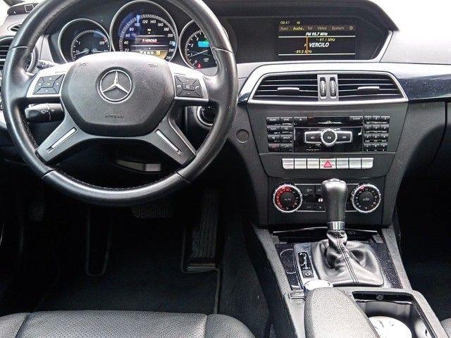 Mercedes Benz c180 2012 cgi(turbo)Blindada n3a+aut/tip+toplinha+couro+absurdamente nova!!! - Foto 19