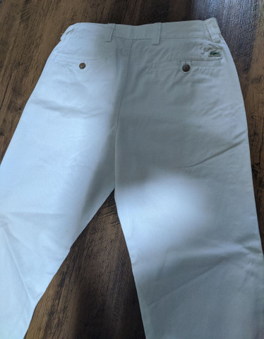 Calça Branca Lacoste Original importada  - Foto 2