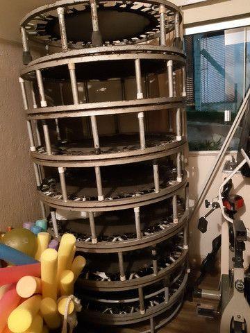 Kit 16 mini-trampolim (jump) usados - Foto 3