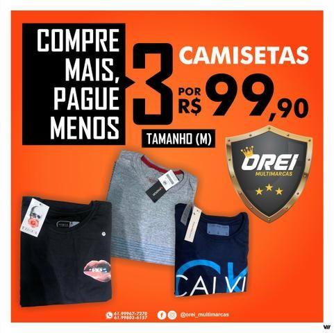 db8f6aea29698 Camisetas Masculinas Oferta Loja Fisica No Df - Roupas e calçados ...
