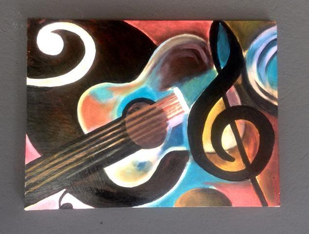 Pintura óleo sobre tela