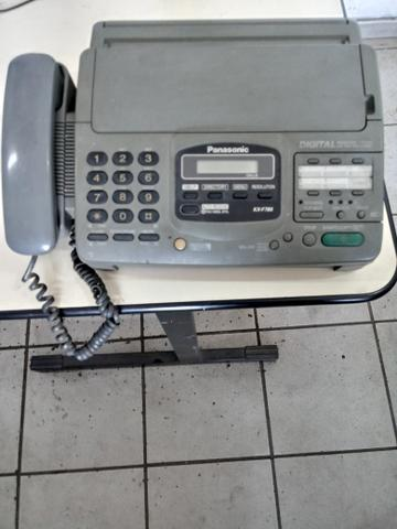 Fax com secretaria eletrônica Panasonic