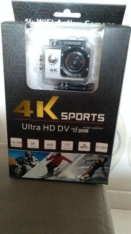 Câmera go cam pró Sport Ultra 4k Full Hd 1080p Wifi