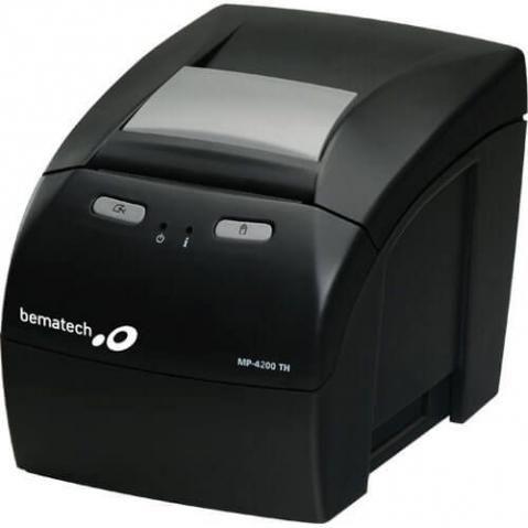 Impressora não-fiscal, gaveta registradora e leitor óptico