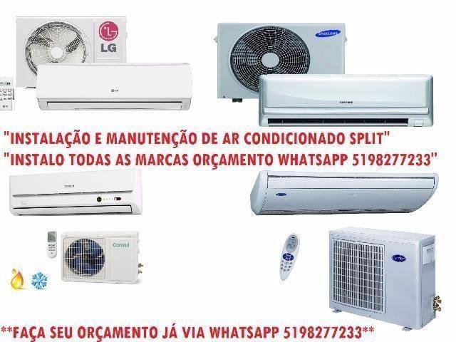 Instalação e Manutenção de Ar Condicionado C/Garantia