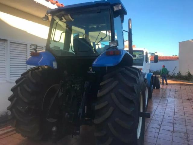 Trator new rolland tm 7040