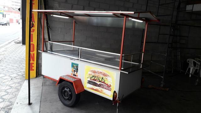 Carrinho de lanche COMPLETO, BEM CONSERVADO * / * R$ 4.950,00 - Foto 2