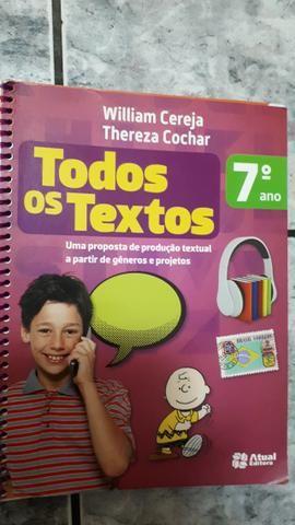 Livro Todos os Textos 7° ano