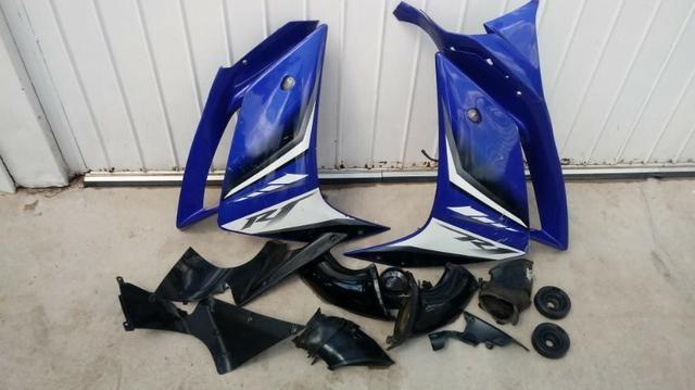Sucata Para Retirada De Peças Yamaha Yzf R1 Ano 2008 Yzf1000 - Foto 3