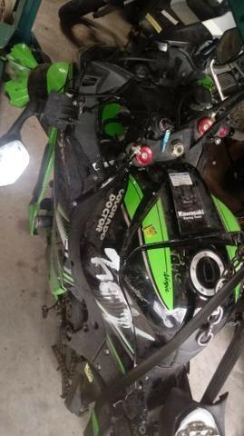 Moto Para Retirada De Peças/sucata Kawasaki Zx10 R Ano 2017 - Foto 2