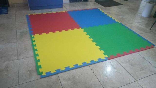 Tatames em EVA 1x1 mt e 0,50 x 0,50 cm